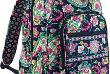 Vera Bradley / We love Vera Bradley! Check out her new Fall 2015 line in stock at our stores Thursday, July 9!