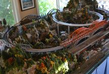 MODEL TRAIN LAYOUTS  DAD