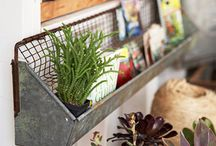 Galvanized & Zinc / Galvanized and Zinc.  Pots, buckets, containers, watering can, ornamentals, vintage, yard art