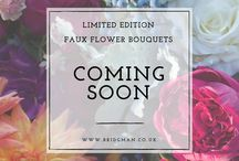 Limited Edition Faux Flower Bouquets
