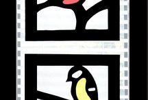 Ikkunakoriste Linnut