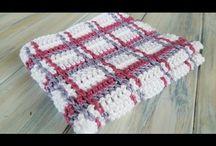 Crochet tartan