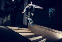Skateboard, Trikkestallen