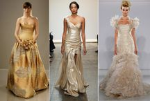 Golden Inspiration / add some sparkle to your wedding
