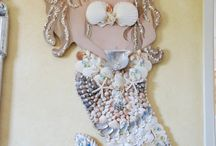 Mermaid with shells