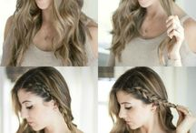 Hairstyle Inspirations / A board for Hairstyles. You can find pins related to quick hairstyles, easy hairstyles, wedding hairstyles, teenage hairstyles, school hairstyles, up dos, etc