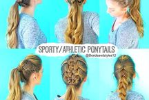 Hair / Cool hairstyles for School or just at home!