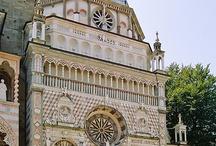 """♡♡✩Amo Bergamo ,la mia.cara Città .♡♡(e dintorni),◎♡✩ / Passeggiando ,  per la mia bella città scopro """"meraviglie """"(sempre esistite  ma apprezzate e condivise con voi amici di Pinterest .Grazie x le belle fotografie .,,,✩✩✩♡♡♡"""