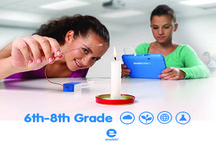 6th-8th Grade / The board is about education and technology in biology, chemistry, and physics for teachers to use and to teach children in 6th grade through 8th grade!