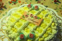 Cake / Torta chantilly alle fragole fatta da me