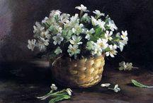 Натюрморт /цветы / Oil painting flowers