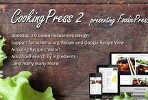 Food and Drinks WordPress Themes