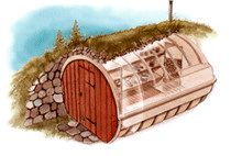 Erdkeller bauen