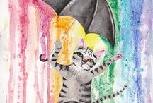 Kitty Cats / by Peggy Miller