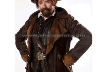 Doctor Who Rufus Hound Borwn Leather Coat / Get this stylish Sam Swift Doctor Who Leather Coat at most affordable price from Sky-Seller and avail free Shipping.