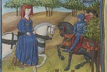 Hest middelalder