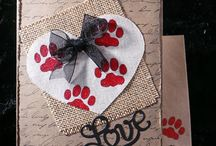 Cardmaking-Love & Valentine's Day / Free instructions to dazzling handmade cards of amour.