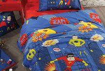 Σεντόνια Παιδικά Σέτ Super Heroes Blue Nef-Nef