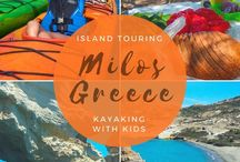 Greece With Kids / Tips and reviews for traveling to Greece with kids, including visiting Athens, Santorini, Crete, and more.