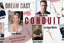 Conduit Dream Cast / This is my dream cast for my book Conduit :) www.amazon.com/dp/B00ISJO1D2