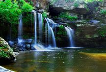 Waterfalls / by Kathy Ahrens