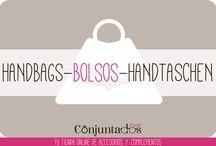BOLSOS-HANDBAGS-HANDTASCHEN / Descubre todos los bolsos, y sus accesorios, que tenemos para ti en www.conjuntados.com, la tienda online de moda :)