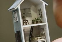 Miniature houses and accessories