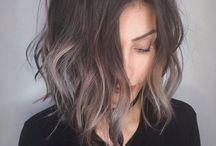 hair color/ hair style
