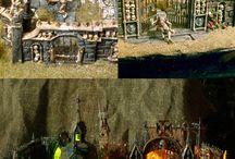 Game tables & terrain