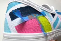 paint shoes