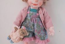 ooak soft sculptured doll