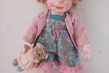 ooak soft sculptured doll