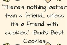 Bite Size Words of Wisdom / These quotes, much like the cookies that inspired them, are sure to make your day a little brighter! #BudsBestCookieQuote