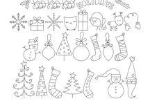 Rysunki świąteczne
