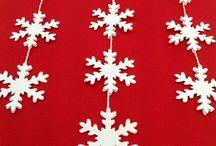 Julepynt - Christmas decorations / Julepynt, dekoration til julen og vinteren, unikke gaveideer og værtindegaver til jul.