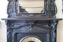 Specchiera / Mirror fireplace