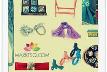 Say it with color / Gorgeous colors to brighten up your house. Hand crafted home decor items in vibrant, cheerful shades.