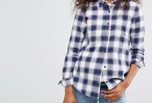 Women's Shirts :: Plaid shirt (Asos) / Are you looking for shirts for women? Find the best brands of plaid shirt like ...