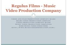 Music Video Production Company / Music Video Director: Regulus Films, a famous video and film production company in Miami, with the team of popular music video directors has released many popular music videos.
