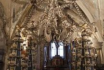 Ossuaries, Crypts, Ancient burial mounds