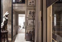 Smoke and Mirrors / Creative, Sultry, Slight of Hand...interiors with mystery....