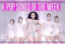 K-Pop Songs of the Week