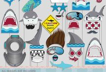 Shark Jaws Party