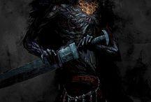 Dark Souls and Bloodborne