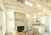 Ideas para un salón romántico de campo / Inspiración para saloncito bungalo