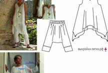 Šaty nadměrné velikosti