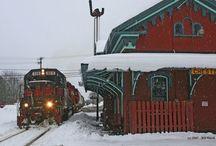 trens e locomotivas