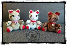 Chats au crochet