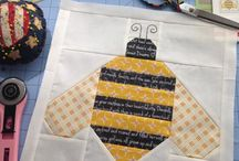 Quilts and sewing