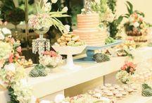 CandyBar o Mesa de Dulces / Decoración de candybar o mesas de dulce